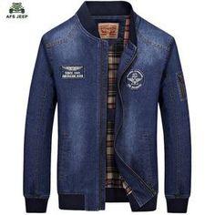 67c6d7a83a0c66 2016 AFS JEEP brand clothing chaqueta hombre denim jacket men plus size  classic washed jeans jacket coat jaqueta masculina