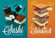 sushi & sandwich