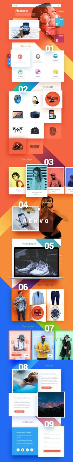 Designspiration — Design Inspiration. If you like UX, design, or design thinking, check out theuxblog.com