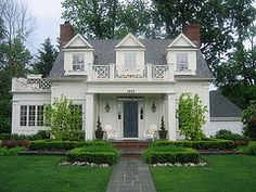 Churchill cottage, Birmingham, Michigan. Sears Architects. by Things That Inspire, via Flickr