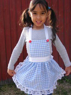 Childrens Apron, Dorothys The Wizard of Oz Inspired Apron. $19.99, via Etsy.