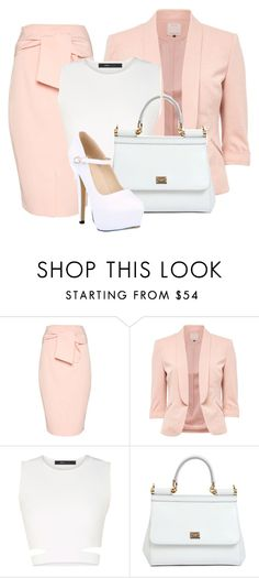 """Untitled #50"" by iamaddad on Polyvore featuring Topshop, BCBGMAXAZRIA and Dolce&Gabbana"