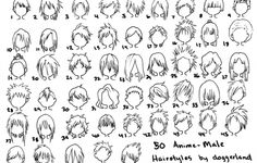 Cool Anime Hairstyles