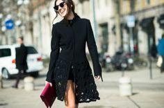 On the Streets of Milan Fashion Week Fall 2014  - Milan Day 4