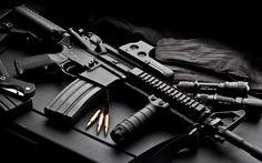 HQ RES assault rifle picture, 1920x1200 (391 kB)