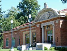 Stillwater Carnegie Public Library. Circa 1902. North Fourth St., Stillwater, MN.