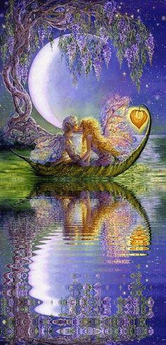 Amor puro bajo la luna ⭐️