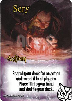 Scry - Wizards - Smash Up Card | Altar of Gaming
