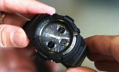Customer Image Gallery for Casio Men's AWGM100B-1ACR G-Shock Tough Solar Power Atomic Watch