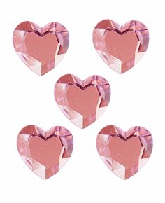 Cant forget about Mark Richards Pink Heart Stickers!