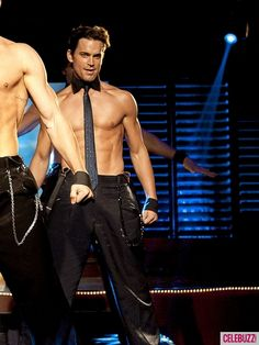 """Matt Bomer in a scene from the upcoming movie """"Magic Mike"""""""