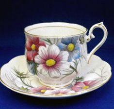 Royal Albert - Flower of the Month Series - Cosmos - October www.royalalbertpatterns.com
