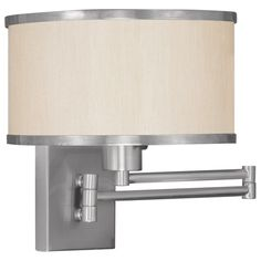Livex Park Ridge 6279 Swing Arm Wall Lamp 11.5H in. - 6279-91