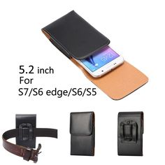 "Find More Phone Bags & Cases Information about For Samsung Galaxy S7/S6 edge/S6/S5/i9082 Phone Bag Belt Clip Holster Vertical Case for 4.5 5.2"" Mobile Phone Pouch Cover XCZ12,High Quality case communication,China case for blackberry curve 8520 Suppliers, Cheap case hdd from Just Only on Aliexpress.com"