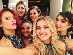 So much power and beauty in one picture. Love my ladies #dwtslivetour #family #strongwomenempowerotherwomen