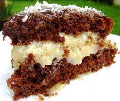 healthy banana mug cake Sweet Recipes, Cake Recipes, Dessert Recipes, Snack Recipes, Chocolate Recipes, Chocolate Cake, Coconut Chocolate, Mounds Candy, Cake By The Pound