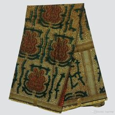 NAR-100 New African Wax Print Fabric,Ankara Cotton Fabrics Batik Hollandais Wax…