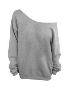 Blank Slouchy Oversized Sweatshirt par DentzDesign sur Etsy, $25,00