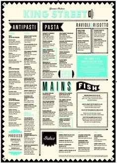 Jamie Oliver Italian Manchester - Menu