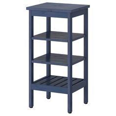 HEMNES Shelving unit - blue - IKEA