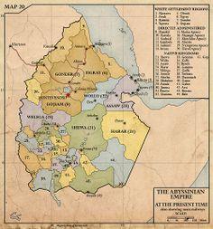 Empire of Abyssinia, c.1940