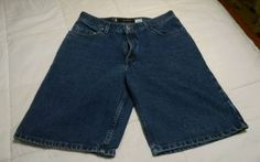 Lot of 2 pairs MENS Levis Silver Tab Loose Fit Jean Shorts SIZE 33