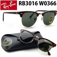 a2c9b70deff Authentic Rayban Clubmaster Classic Sunglasses RB3016 W0366 51