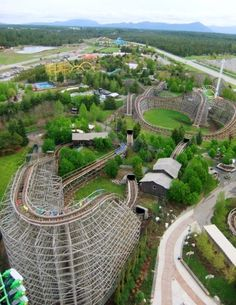 Roller Coaster: Tremors at Silverwood Theme Park. The craziest, funniest, best rollercoaster ever!