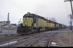 RailPictures.Net Photo: CNW 6813 Chicago & North Western Railroad EMD SD40-2 at Oshkosh, Wisconsin by Pete Greischar