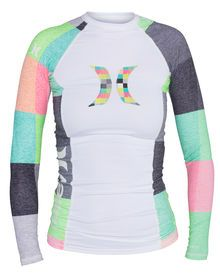 The One & Only Long Sleeve Women's Rashguard features flatlock seams for zero chafe comfort, wit...