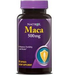 60 cápsulas de Maca 500mg. Mejora del deseo sexual, energético, afrodisíaco.  Aumenta la libido y la salud en general. Mejora el rendimiento sexual. Es energético, saludable y reconstituyente. Aumenta los niveles de testosterona de forma natural, mejorando así el crecimiento muscular.