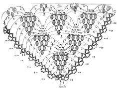 Bellísimo Chal a Crochet con Motivo de Uva - Manualidades Y DIYManualidades Y DIY