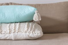 No zip cushion covers - Dunne with Style