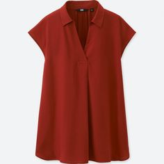 WOMEN Rayon French Sleeve Blouse | UNIQLO