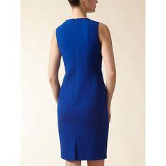 Buy Jaeger Wool Crepe Shift Dress Online at johnlewis.com
