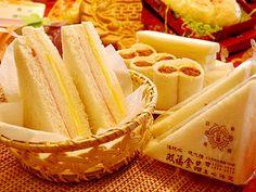 Taiwanese style sandwich.