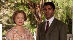 INDIAN SUMMERS 3 Alice (Jemima West) and Aafrin (Nikesh Patel)