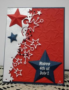 Happy 4th of July by mother's daughter - Cards and Paper Crafts at Splitcoaststampers