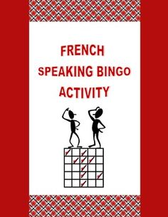 Practice grammar and vocabulary concepts while encouraging spoken production (CEFR) and whole-class participation with French Speaking Bingo. Education And Literacy, French Education, French Teaching Resources, Teaching French, How To Speak French, Learn French, Communication Orale, French For Beginners, Learning A Second Language