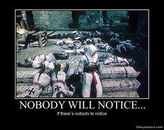 Nobody Will Notice..... by JohnnyTlad.deviantart.com on @deviantART