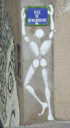#StreetArt #UrbanArt - Jérôme Mesnager
