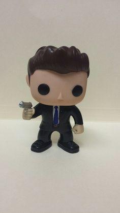Supernatural FBI Dean Winchester  Custom Funko pop by MistyFigs, $39.99