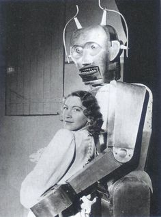 """Robots Love The Ladies.."""".........excuse me.....where do the batteries go ......???????"""
