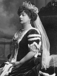Lady Poltimore wearing the Poltimore Tiara