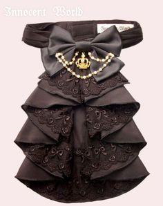 Original Crown Jabot by Innocent World Victorian Steampunk, Victorian Fashion, Punk Fashion, Lolita Fashion, Faux Col, Gentleman Hat, Antique Jewellery Designs, Love Clothing, Fantasy Jewelry