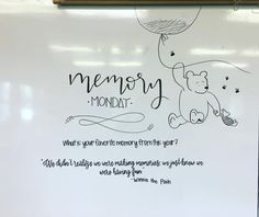 """59 Likes, 1 Comments - Ashley Weideman (@mrsws_whiteboards) on Instagram: """"#memorymonday for our LAST Monday of the school year! Inspiration from @mrsdrmorgan ☺️…"""""""