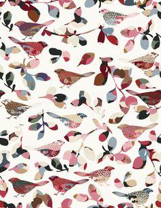 flower-birds