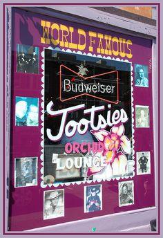 Tootsie's Orchid Lounge . Nashville, Tennessee
