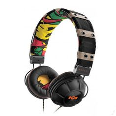 House of Marley Rebel On-Ear Headphones - Rebel on-ear headphones combine deliver great sound while allowing you to show your personal style. Soft ear cushions are comfortable while isolating your music experience from the outside world.
