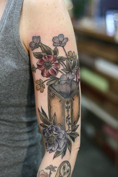 Welcome to our board for tattoos inspiration! 10 Great Book of Tattoo Designs that You Can Buy Right Now The most important thing you can ever learn when l Weird Tattoos, Leg Tattoos, Flower Tattoos, Body Art Tattoos, Arrow Tattoos, Small Tattoos, Bookish Tattoos, Literary Tattoos, Tattoos For Lovers